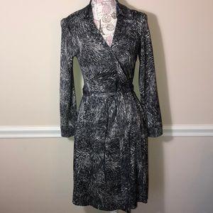 Diane Von Furstenburg New Jeanne Too Wrap Dress 10